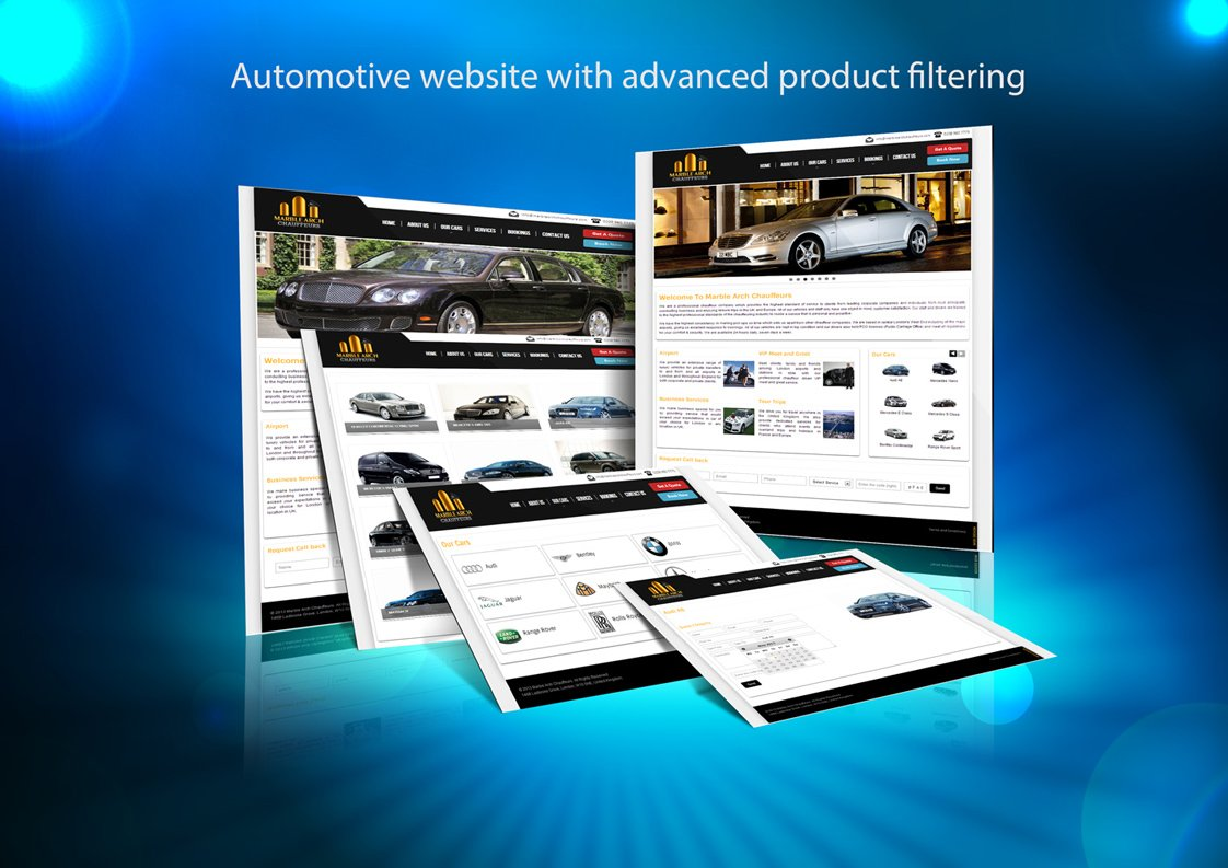 Automotive Website – Advanced Search
