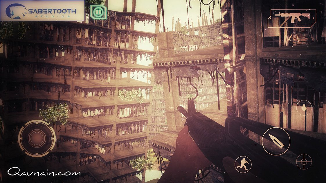 3D FPS Mobile Game - Urban City - iOS & Android