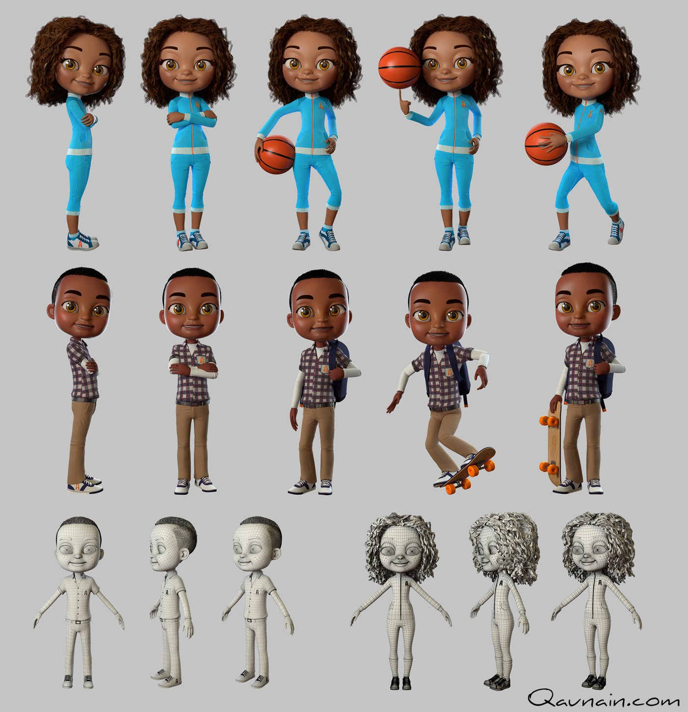 3D Characters for Branding