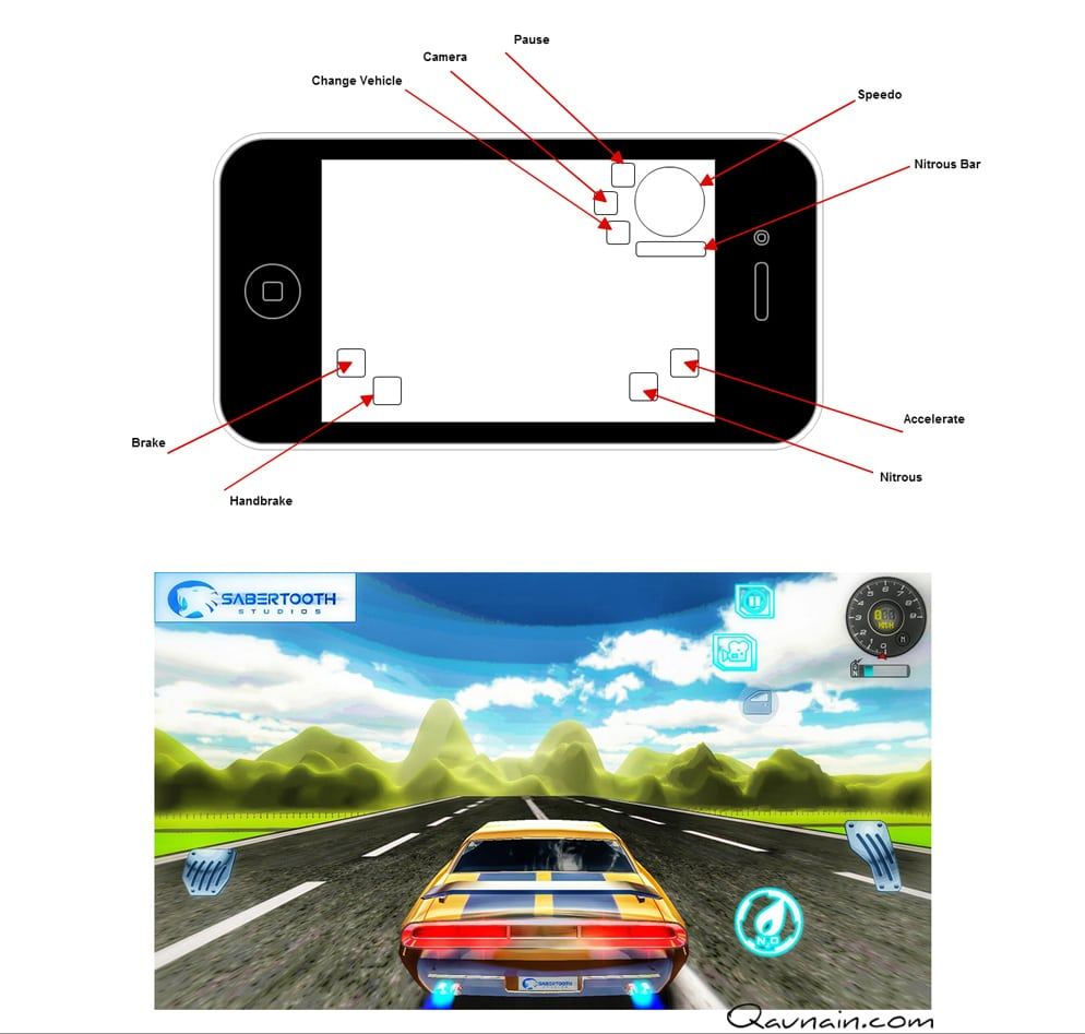 Mobile Game App – 3D Cars and Bikes